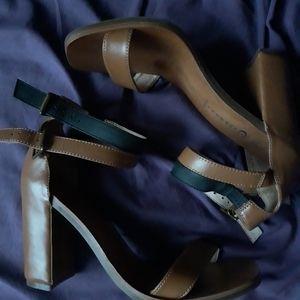 Jeffrey Campbell Isadora Stappy Heel Sandals Sz 10